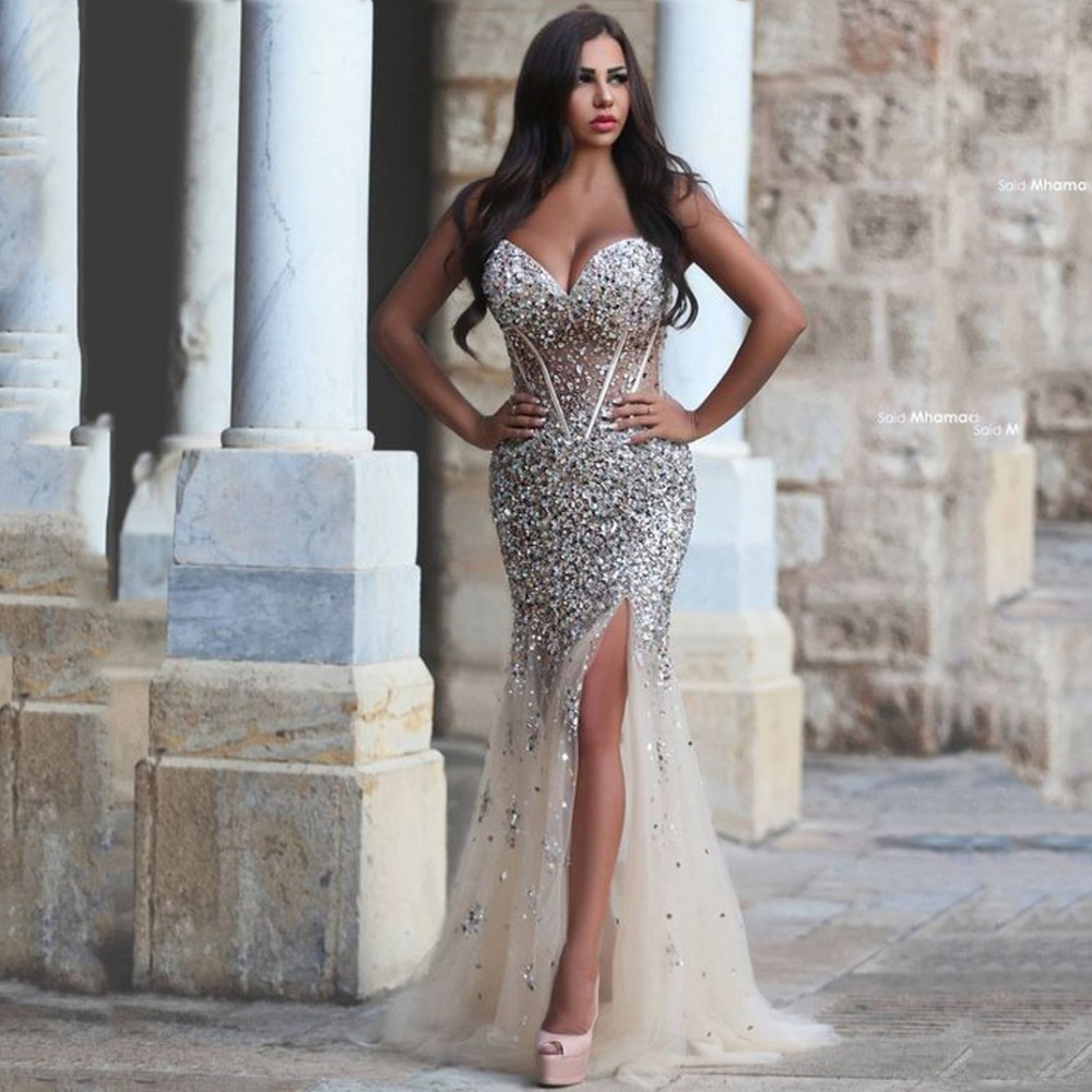 gorgeous sparkling sweetheart backless prom dresses 2016. Black Bedroom Furniture Sets. Home Design Ideas