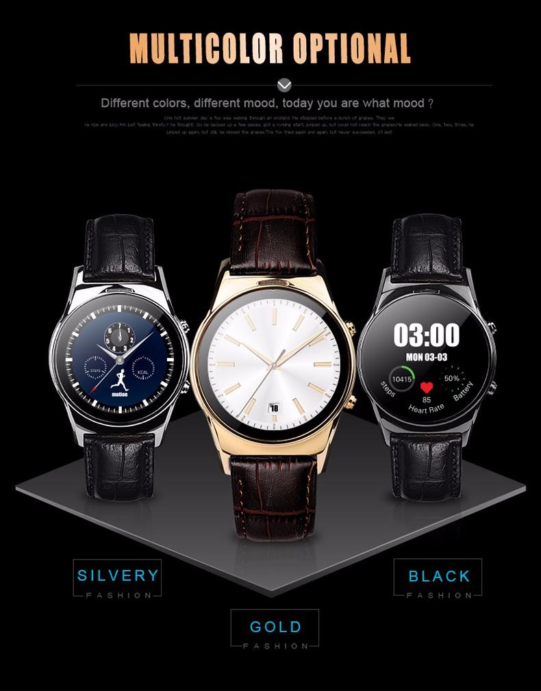 ถูก สมาร์ทรอบนาฬิกาLW03 DM88 X01 D5 K8 K18 LEM1 K9 X5บลูทูธ4.0 S Mart W AtchกับWifการเชื่อมต่อสำหรับAndroidและIOSมาร์ทโฟน