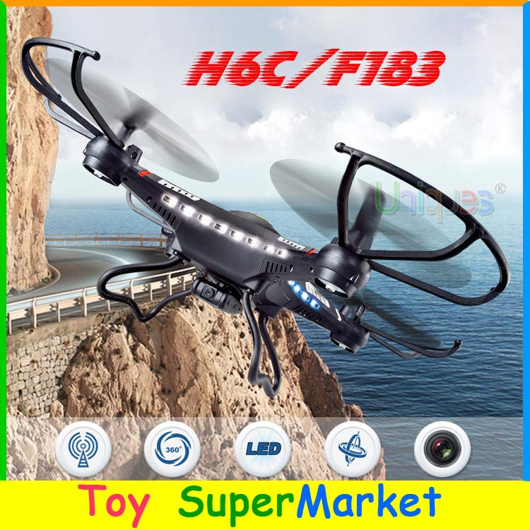 JJRC H8C Big RC Quadcopter with Camera HD 2.0MP Remote Control Helicopter CF Mode UFO Drone DFD F182 & DFD F183 H107C U818A X5C(China (Mainland))