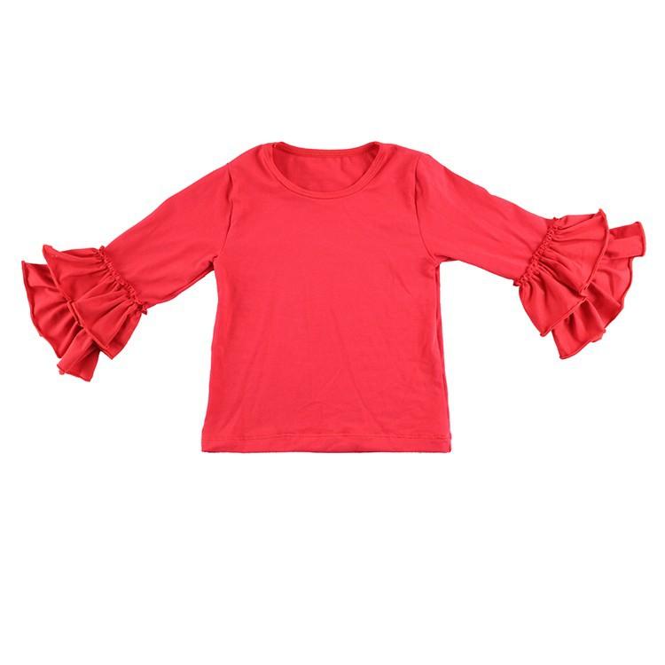 2016 New Real Minecraft Minion Wennikids Solid Cotton Sleeve Ruffle Top,girl T-shirt Children T Shirts Kid Tops Free Shipping  HTB1.wazHVXXXXaqXVXXq6xXFXXXG
