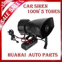 car siren HOT 5 Tone Police horn alarm Siren 12v 60W Car motorcycle tape megaphone pa Speaker system+ Microphone - WENZHOU HUA HAI AUTO PARTS CO.,LTD store
