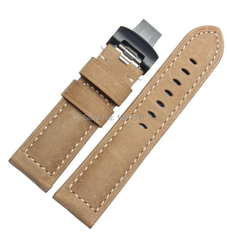 TOP Grade 24mm Men Sports Watchband,Stainless Steel Deployment Buckle,Watch BANDS Strap BB0026