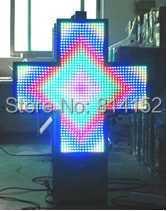 aliexpress P25 Outdoor Waterproof fullcolor led pharmacy cross sign /P25 led display/led pharmacy cross board/led video(China (Mainland))