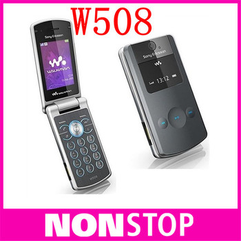 Original Sony Ericsson w508 cell phones , unlocked brand w508 mobile phones 3G HSDPA 2100 3.2MP bluetooth mp3 player