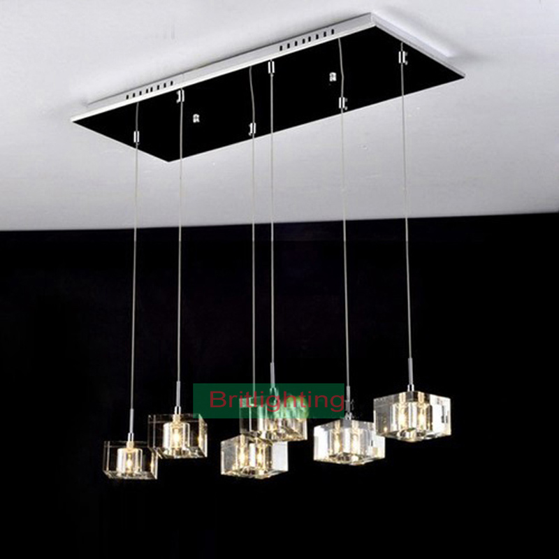 Modern Pendant Light Dinning Room Pendant Lamp Crystal Dining Room Lamps Vint