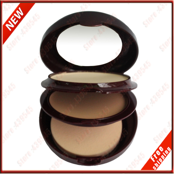 Sophisticated high quality brand makeup foundation 26g Ivory white dry powder and natural wet powder primer free shipping 8842#3(China (Mainland))