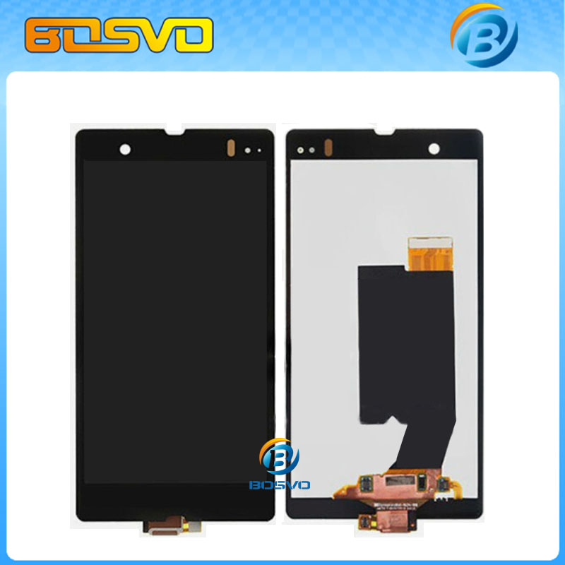 DHL EMS shipping 5 pcs/lot replacement LCD Display with Touch Screen digitizer assembly For Sony for Xperia Z L36i L36h C6603(China (Mainland))