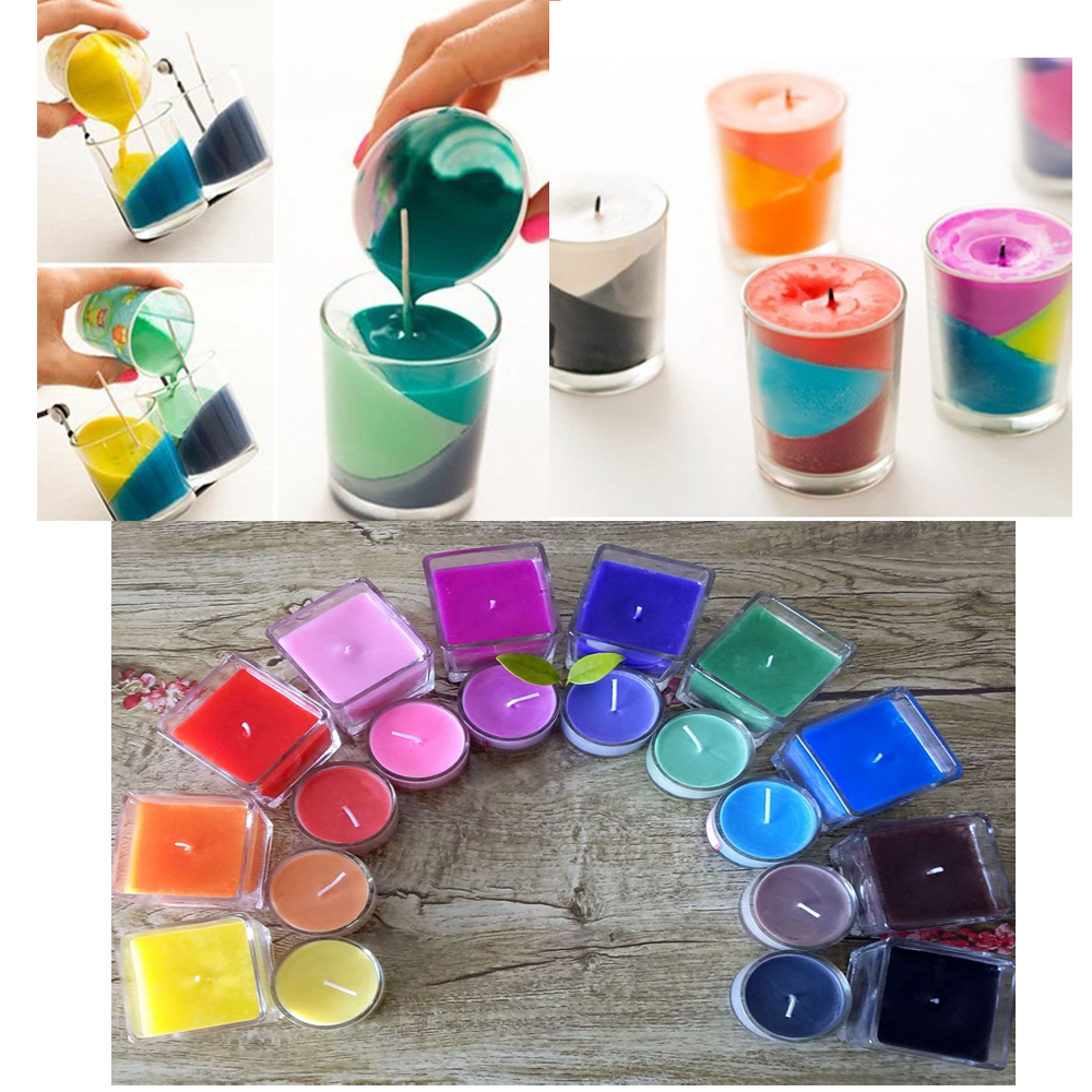 5g//Bag Candle Dye Natural Plant Wax Dyes for Candle Coloring Black
