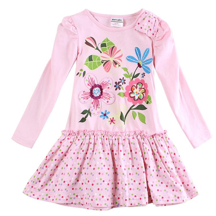 fashion polka dot pink baby girls dress up for girls All for children clothing accessories kids wear vestidos infantis de menina(China (Mainland))