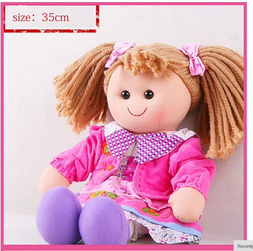 Кукла девочка из ткани