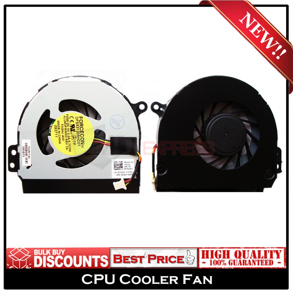 New! Laptop CPU Cooling Cooler Fan for Dell Inspiron N4010 N4020 P/N: DFS531205HC0T 4LUM3FAWI00(China (Mainland))
