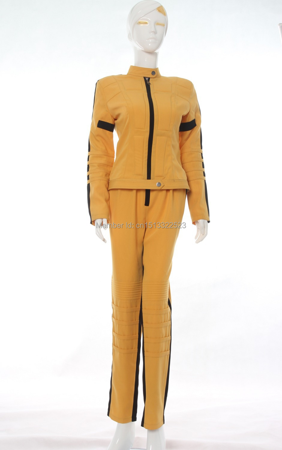 Kill Bill Wedding Dress Costume Kill Bill Cosplay Costume