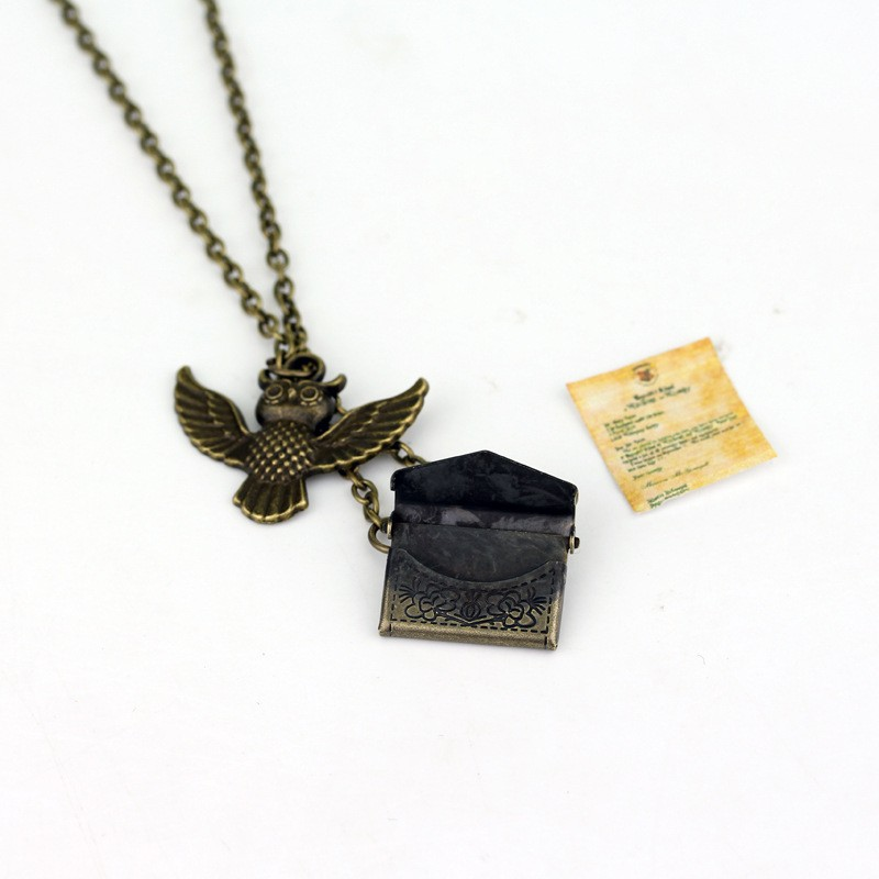 Harry Potter Owl magic Necklace Pendant