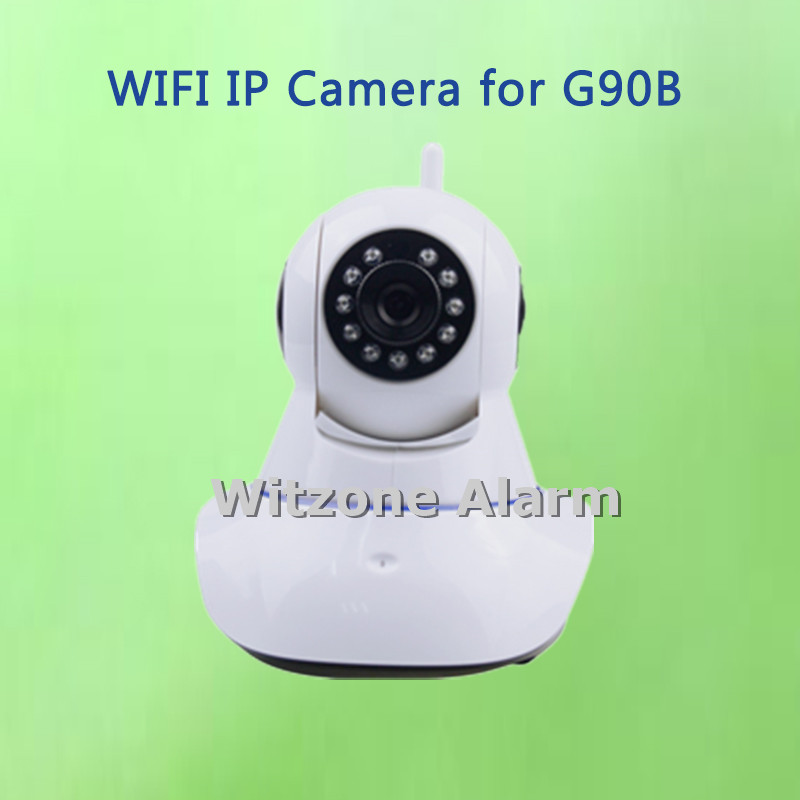 IOS Android Supported Wireless WIFI Pan / Tilt Networok IP Camera HD 720P Surveillance Camera for wifi gsm alarm G90B<br><br>Aliexpress