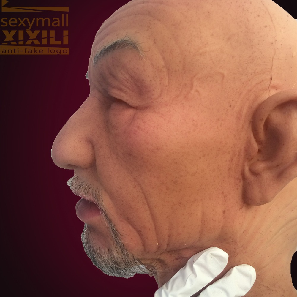 Online Buy Wholesale halloween old men mask from China halloween ...