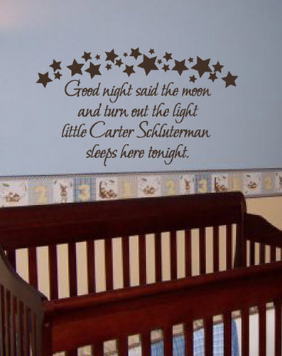 Baby Room Wall Decals Quotes Wall Murals Ideas - Nursery wall sticker quotes