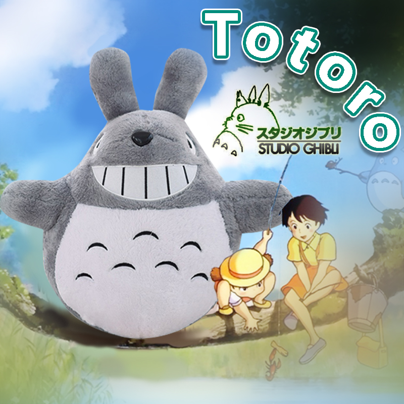 Free shipping wholesale 45cm lovely plush toy, my neighbor totoro plush toy lovely doll Totoro Plush Toy totoro plush for kids(China (Mainland))