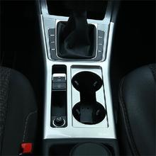1 PCS DIY car styling New ABS Chrome or stainless steel handbrake glass light box cover case for VW NEW GOLF 7 part accessries