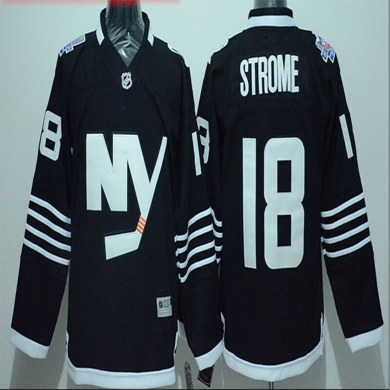 Ryan Strome Jersey 2016 Stadium Series Men's NY Islanders #18 Ryan Strome Home Blue Stitched Embroidery Logo Ice Hockey Jerseys(China (Mainland))