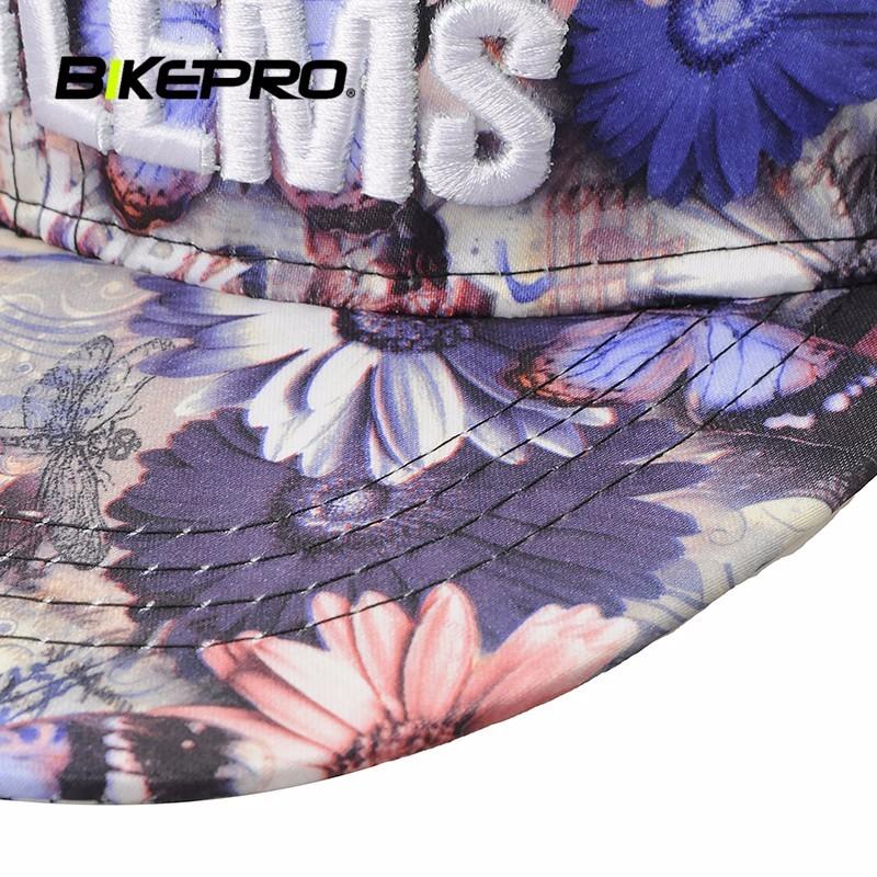 Outdoor Sport Caps Breathable Men Women Floral Print Baseball Hiphop Cap Summer Adjustable Sun Hat Baseball Sports Running Cap