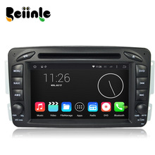 Beiinle QUAD CORE 1024*600 Car 2 Din Android DVD GPS Radio Stereo Navigator for Benz W639 W638 W203 W168 C209 C209 W463