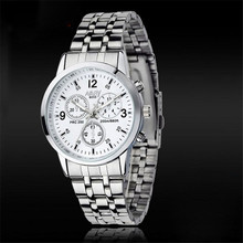 Durable Hot!!! 1Pcs Women Waterproof Stainless Steel Jewelry Quartz Watch Wholesale Fast Shipping