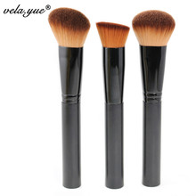 VELA Professional Makeup Brushes Set 3Pcs Multipurpose Brushes For Face Makeup