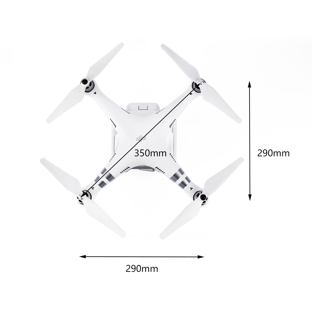 1pcs 12MP Camera Quadcoptor Drone 3-Axis Gimbal For DJI Phantom 3 Advanced