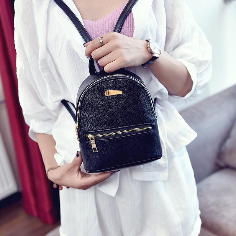 Small Fashion Rucksack Hotsale Women Shopping Purse Ladies Joker Bookbag Travel Bag Student school Backpacks Mini Women Backpack 1