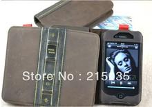 Book Design PU Leather Full Body Case(China (Mainland))