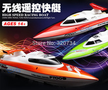 Hot sale Feilun FT007 2.4G 4CH Water Cooling High Speed Racing RC remote control Boat(China (Mainland))