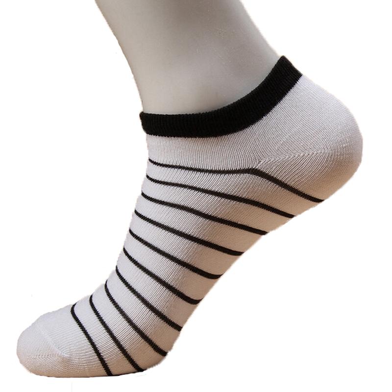 5pair Cool 3d Socks Men Soccer Summer Lot Man Sport Socks Invisible Classic Mens Short Socks Boat Stripe Pattern 3 Colors Hot(China (Mainland))