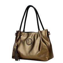 Famous Brands Women Tassel Handbags Women's Messenger Bags Lady Vintage Leather Tote Fashion Pouch Bolsas Retro Shoulder Handbag