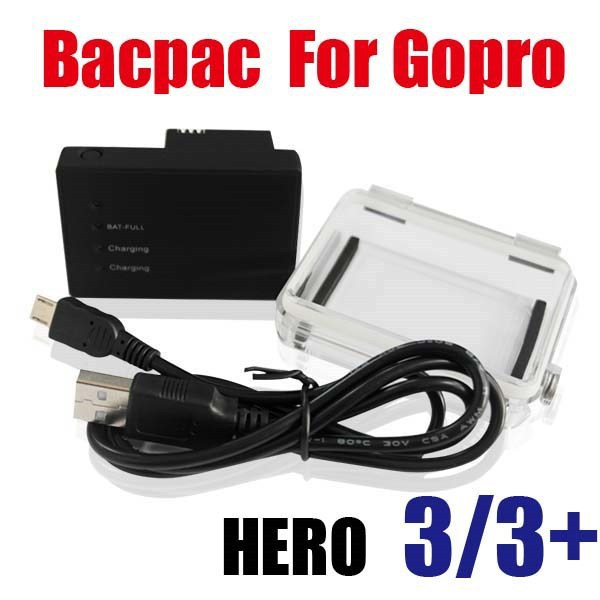 Аккумулятор для фотокамеры Tenson Hero3 3 + Bacpac ahdbt/301 GoPro Go Bacpac battery for HERO3 3+ аккумулятор для фотокамеры brand new hero3 akku 1600mah ahdbt 301 302 hero3 dual usb gopro pro hd 3 3 ahdbt 301 02