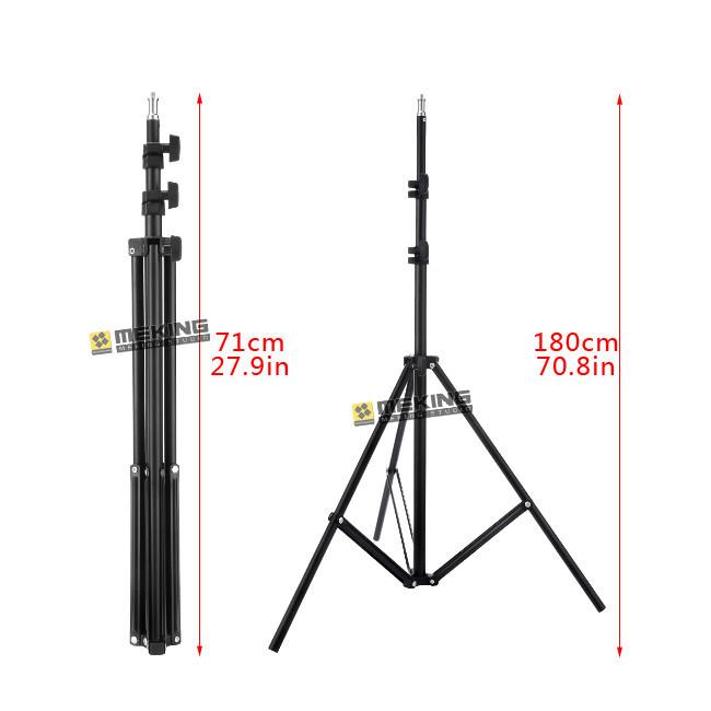 ถูก Meking 195เซนติเมตร78inขาตั้งไฟW803ขาตั้งกล้องสำหรับแสงสนับสนุนระบบถ่ายภาพผู้ถือโหลด3.2กิโลกรัม