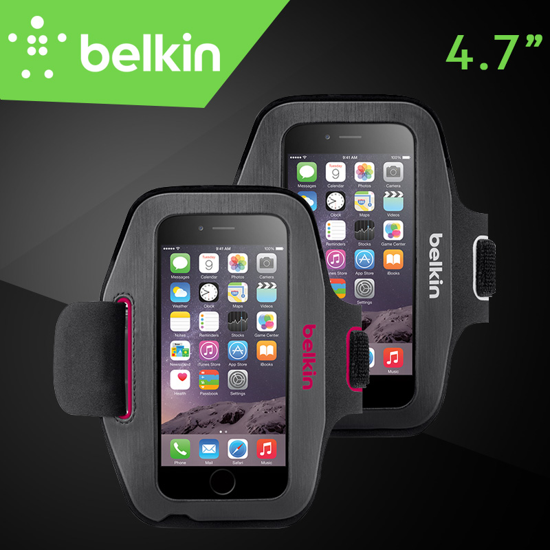 """Belkin Original Sport-Fit Jogging GYM Armband Bag Hand-washable Case for iPhone 6/6s 4.7"""" with Packaging Free Shipping(China (Mainland))"""