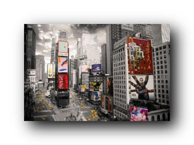 2014 Hot Sale GB Eye New York Times Square Poster Prints high qualiot ty picture nice movie style custom poster 50x75cm(China (Mainland))