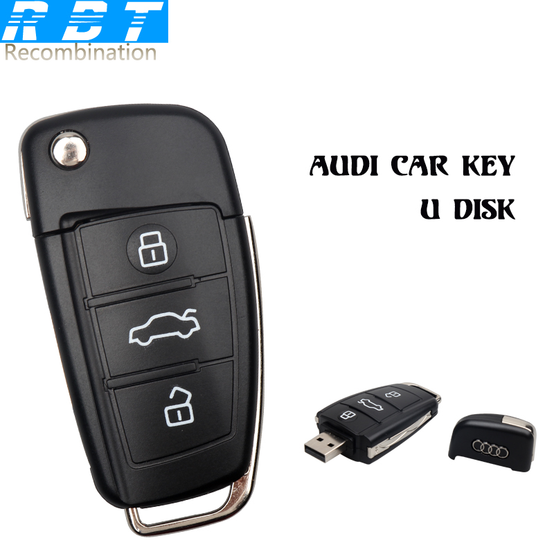 2015 RBT Real Capacity High Speed Audi Car Key 8GB 16GB 32GB Pen Drive Pendrive Usb Flash Drive For PC Free Shipping(China (Mainland))