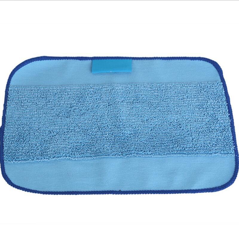 1pcs/Lot Microfiber Mopping Cloths for iRobot Braava 380 380t 320 Mint 4200 4205 5200 5200C Robot(China (Mainland))