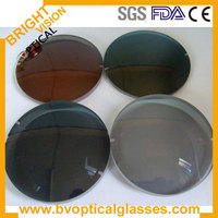 1 50 index single vision polarized lens with free lens cutting and antireflective coating