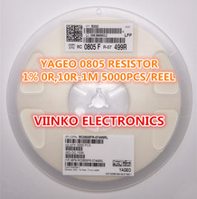 full reel 1% 0805 3.83k 3.83K 1/8W SMD Chip Resistor 5000pcs/reel YAGEO New Original Fixed - Viinko Electronics store
