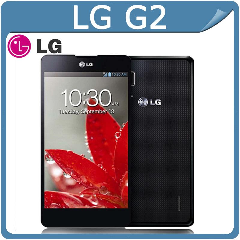 Unlocked Original LG G2 F320 D800 D802 F320S/L/K LS980 5.2'' 2G RAM 16G/32GB ROM Qual-core 13MP Camera 3G&4G NFC WIFI GPS Phone(China (Mainland))