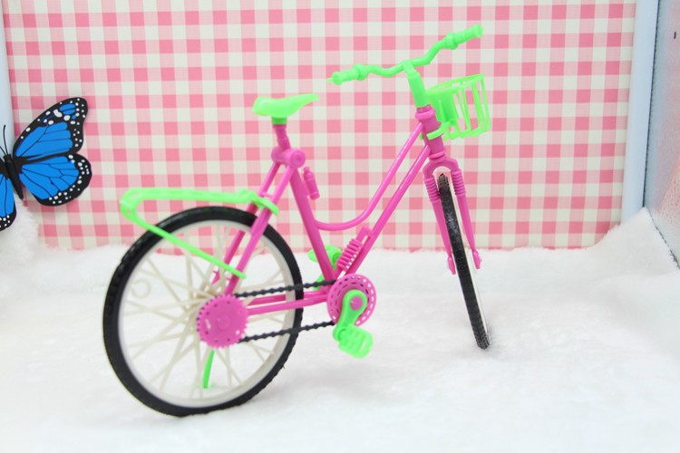2015 Bike Show or Ornament Equipment For Barbie Dolls/Monster Excessive dolls Sports activities Bicycle