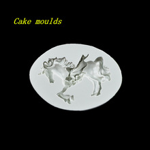 Buy 92*67*16mm unicorn shape silicone mold fondant cake chocolate decoration mould baking tools DIY craft mold for $5.69 in AliExpress store
