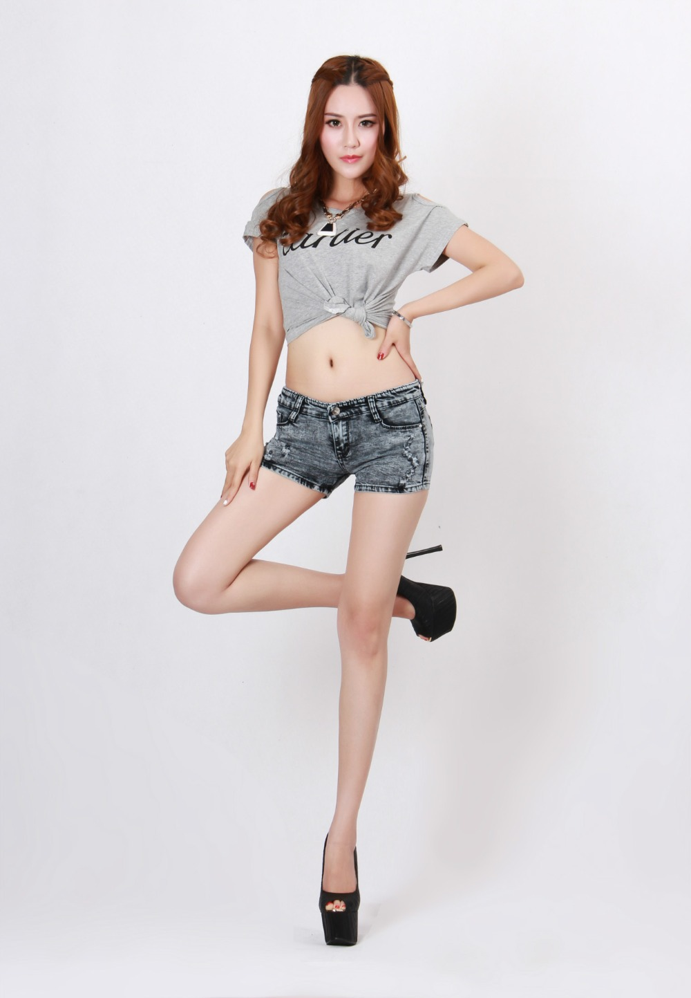 Big Sale! 2014 fashion Cotton female shorts sexy women ...