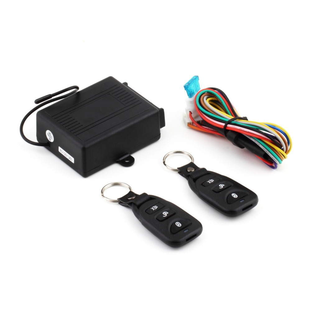 Universal Car Auto Remote Central Kit Door Lock Locking Vehicle Keyless Entry System New With Remote Controllers free Shipping~(China (Mainland))