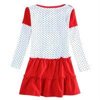 Pepa марки nova дети девушка платье peppa свинья roupa infantil длинными рукавами платье детской одежды baby девушка партия платья h5648d