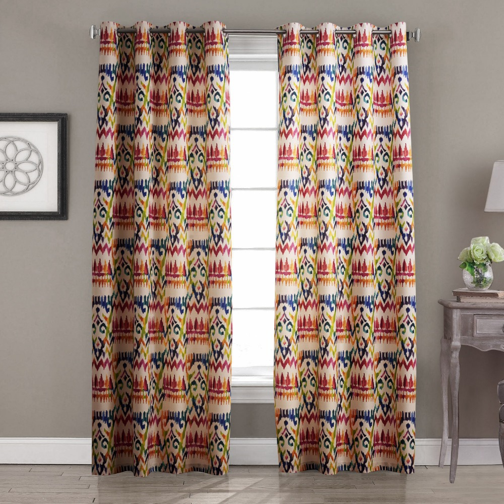 twopages one panel contemporary abstract gypsy bohemian