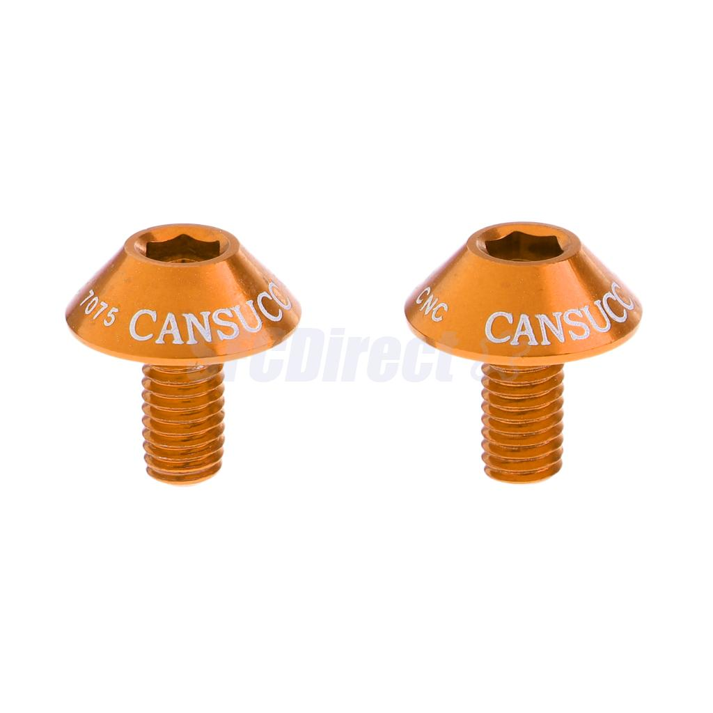 2Pc M5x10mm Bike Water Bottle Cage Bolts Hex Socket Screws Bicycle Accessory