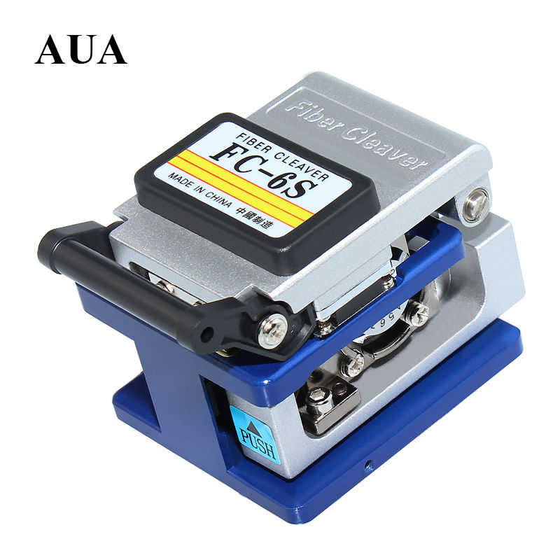 High Precision Fiber Cleaver Optic Connector FC-6S Optical Fiber Cleaver,Used in FTTX FTTH Free Shipping,Metal material(China (Mainland))